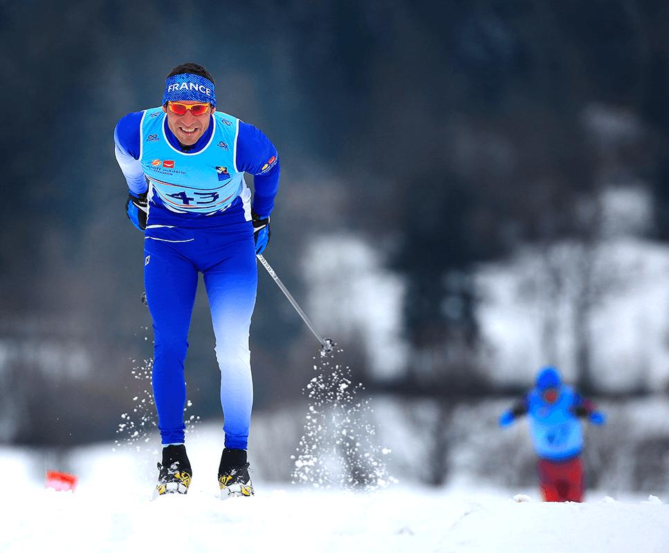 Para ski nordique adapté