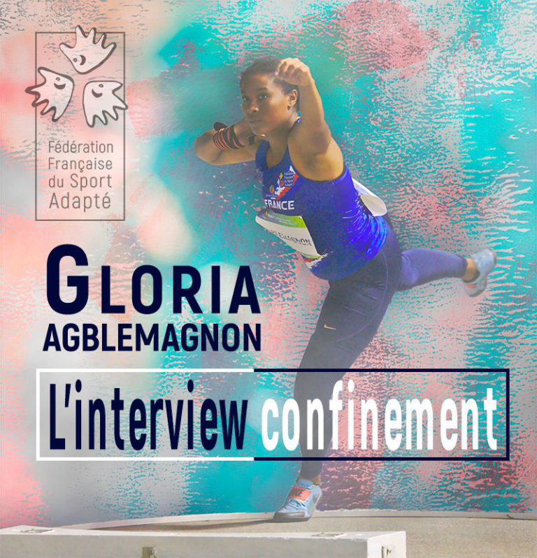 Gloria Agblemagnon, l'interview confinement