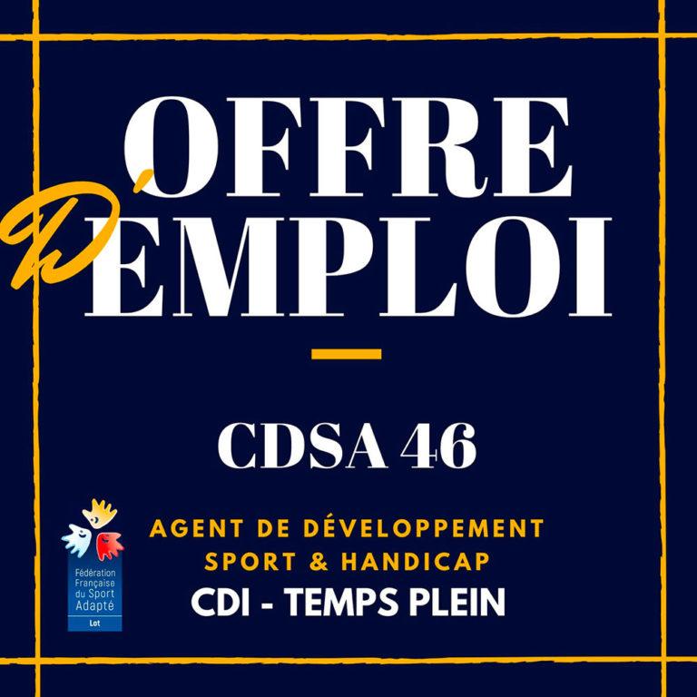 Offre d'emploi CDSA46