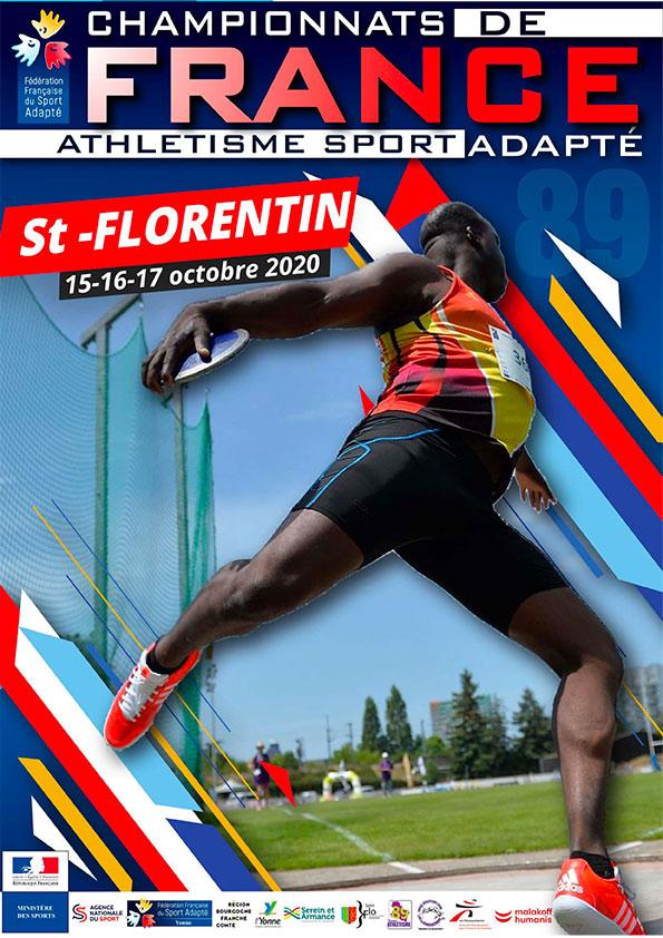 Championnat de France para athlétisme adapté 2020