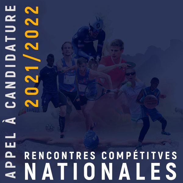 Rencontres compétitives nationales FFSA 2021-2022