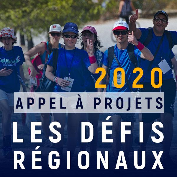 Les défis régionaux 2020