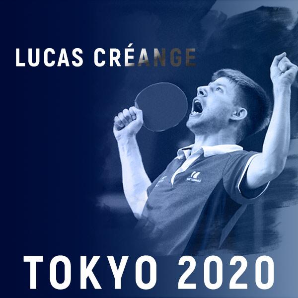 Lucas CRÉANGE s'envole pour Tokyo 2020