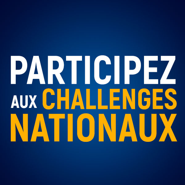 Les challenges nationaux