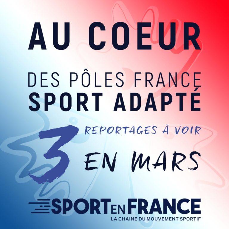 Les pôles France Sport Adapté