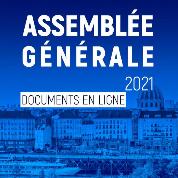 Les documents pour l'assemblée générale en ligne