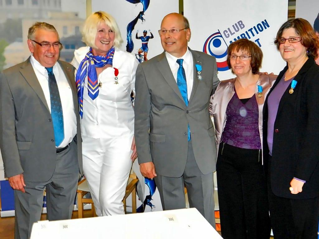 2012 | Madeleine reçoit la légion d'honneur