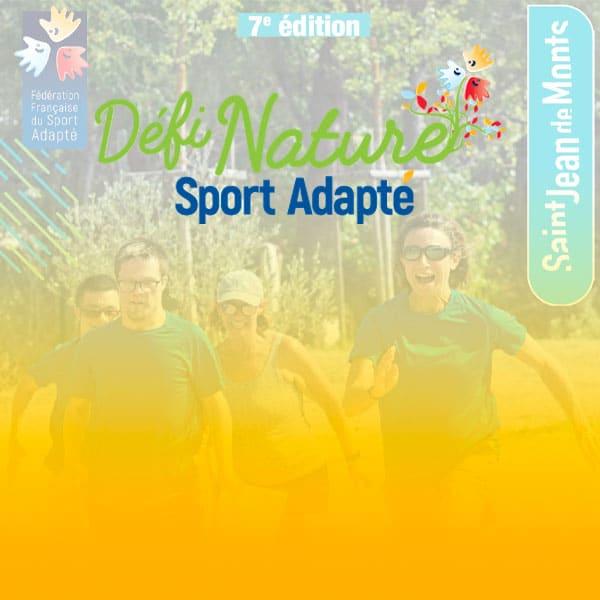 Défi Nature Sport Adapté 2021