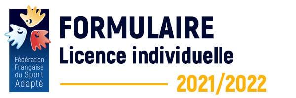 FORMULAIRE DE LICENCE INDIVIDUELLE FFSA 2021-2022