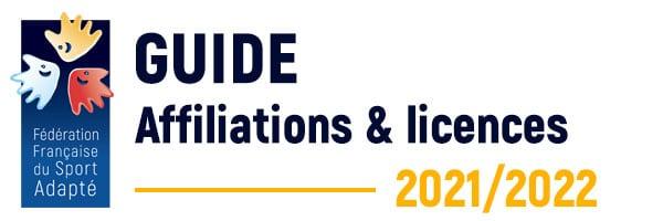 Le guide d'affiliation et de licences FFSA 2021-2022