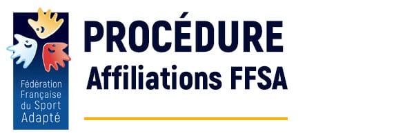 Procédure d'affiliation à la FFSA