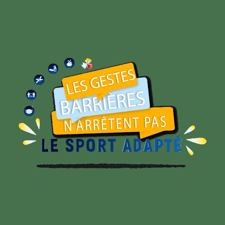Les gestes barrières n'arrêtent pas le Sport Adapté