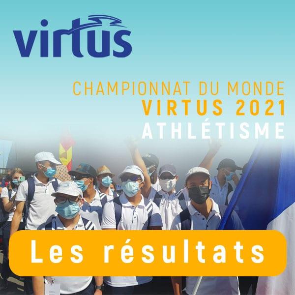 CM VIRTUS 2021 Athlétisme - les résultats