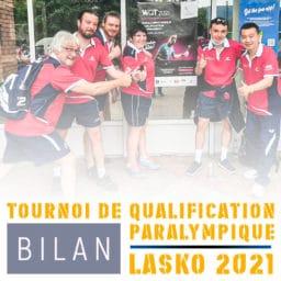Tournoi de qualification paralympiques de Lasko 2021