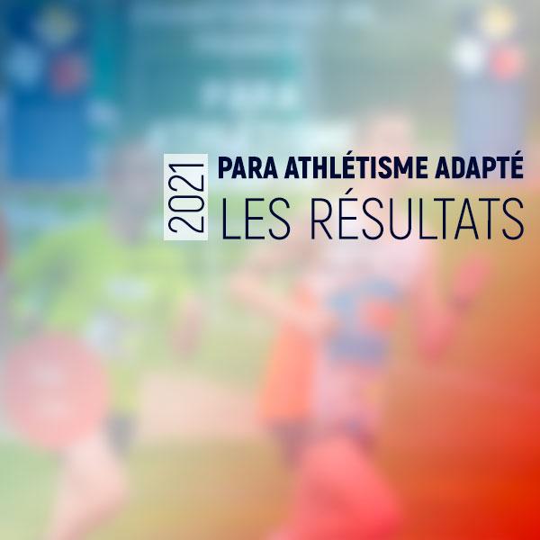 Championnat de France para athlétisme adapté 2021