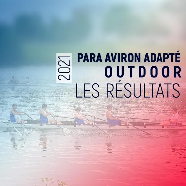 Championnat de France para aviron outdoor adapté 2021