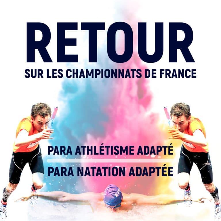 Championnats de France para athlétisme et natation adapté 2021