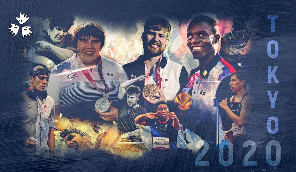 Bilan du Sport Adapté à Tokyo2020