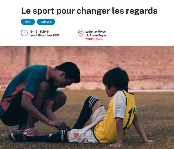 Le sport pour changer de regards